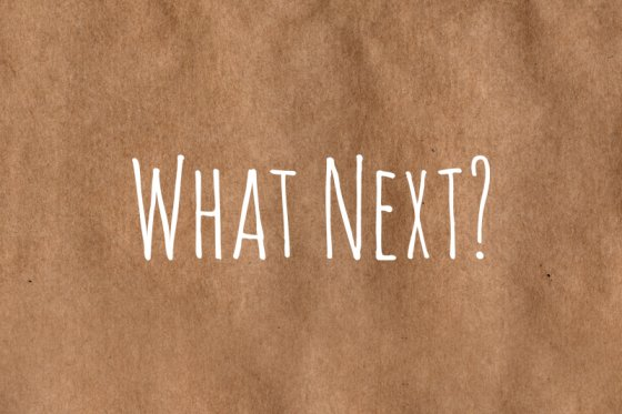 What Next? material icon